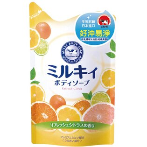 *沐浴 3件66折*牛乳石鹼沐浴乳補充包-柑橘清香《康是美》