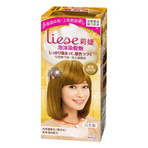 *優惠促銷*Liese莉婕泡沫染髮劑- 戚風棕色《康是美》