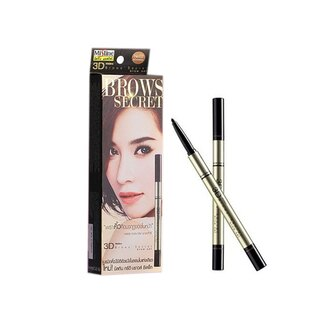 Mistine眉粉+眉筆+染眉膏1深棕《康是美》