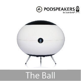 【PODSPEAKERS】The Ball 超低音喇叭(黑/白/紅)