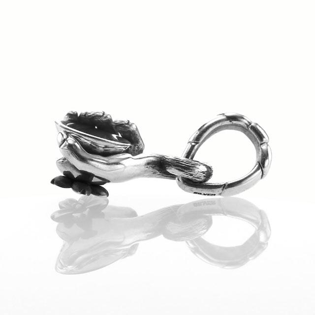 【現貨商品】【Bloody Mary】仙猿握杯鑽石墜飾 純銀款 (BMP1374-D  0838180000) 5