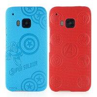 漫威英雄Marvel 周邊商品推薦【MARVEL】HTC One M9 高質感皮革壓紋背蓋保護殼