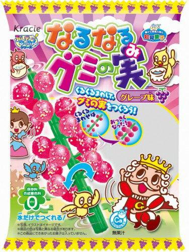 有樂町進口食品  日本 佳麗寶 知育菓子 知育果子 糖果樹(葡萄口味) 4901551354986 0