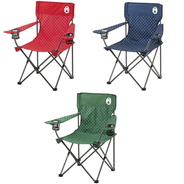 【露營趣】中和 附手電筒 Coleman 圓點度假休閒椅 摺疊椅 折疊椅 大川椅 CM-26734 CM-26735 CM-26736
