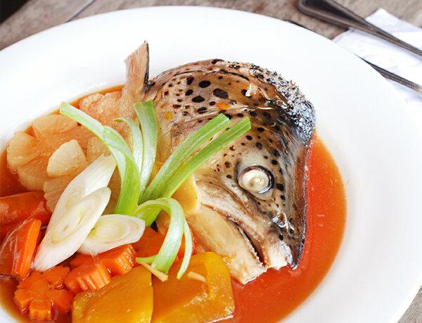 鮮凍智利鮭魚頭剖半