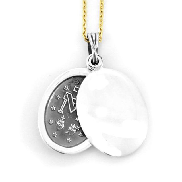 【海外訂購】【amp japan】聖母瑪麗亞純銀項鍊(AMP-13AH-360  0709220000) 2