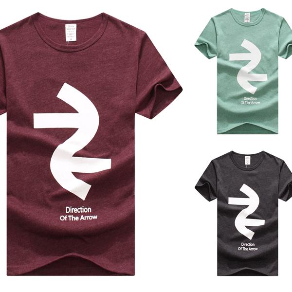 短T.造型短T.潮T.Tshirt.情侶裝.情侶T恤.向左走向右走  【MD012】艾咪E舖.班服 - 限時優惠好康折扣