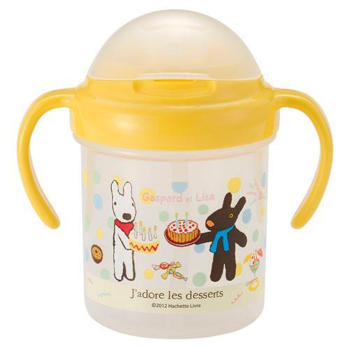 嬰兒喝水杯-麗莎與賈斯伯(LISA&GASDART)/日本製