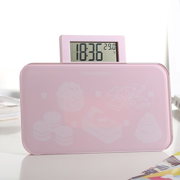 妙管家 甜心多功能電子秤/體重計HKES-0090 0