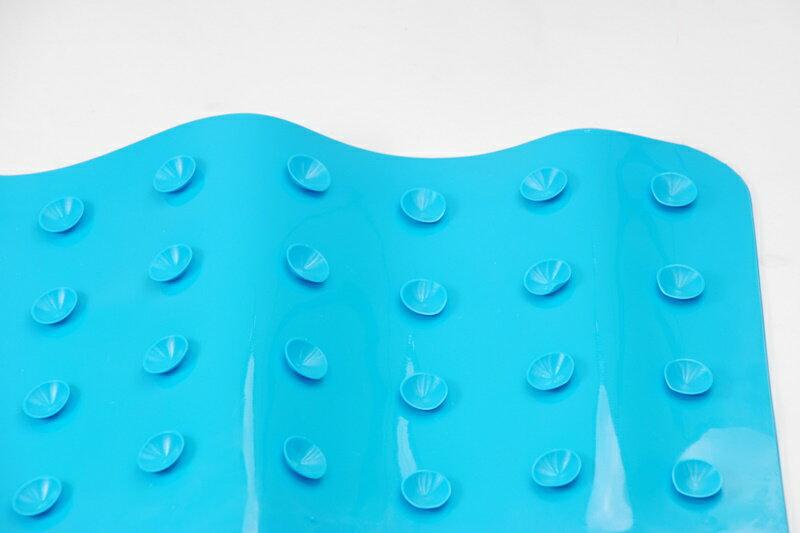 【凱樂絲】魔術防滑浴室墊(藍色) -背面密集吸盤-浴室, 廚房, 居家安全 保護 長輩, 小孩, 孕婦止滑,預防跌倒 3