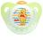 『121婦嬰用品館』NUK 迪士尼安睡型乳膠安撫奶嘴 - 初生 1