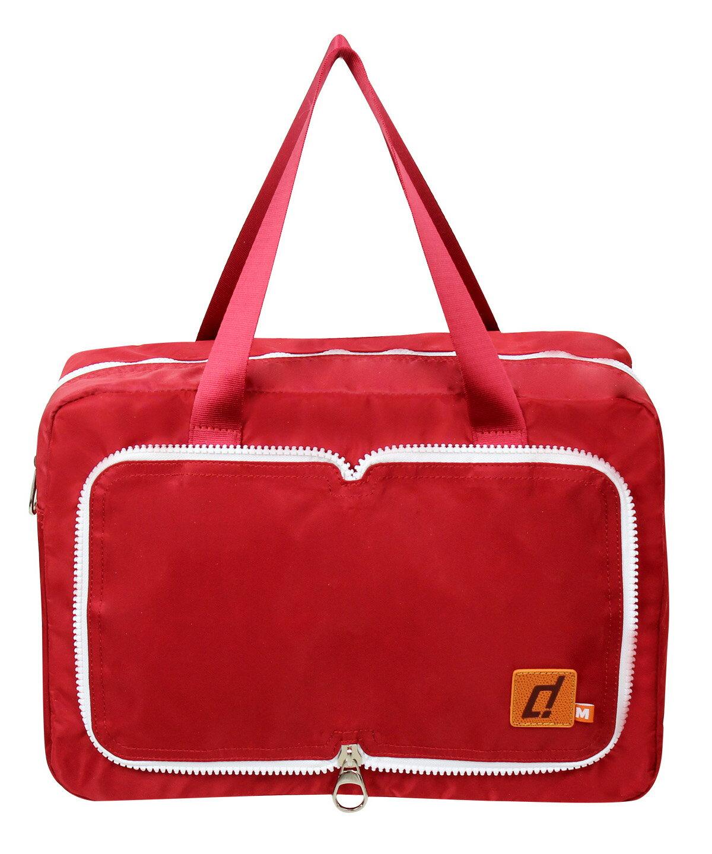 departure 旅行趣 收納/摺疊袋 萬用旅行便利摺疊帶-M紅 - 限時優惠好康折扣