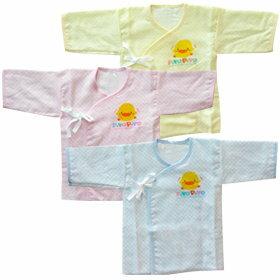 『121婦嬰用品館』黃色小鴨方格印花肚衣 - 限時優惠好康折扣