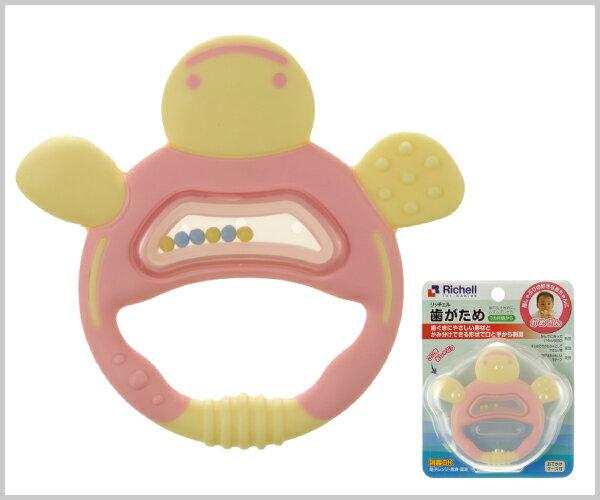 Richell利其爾 - 固齒器 粉紅色手指型 (盒裝) 8