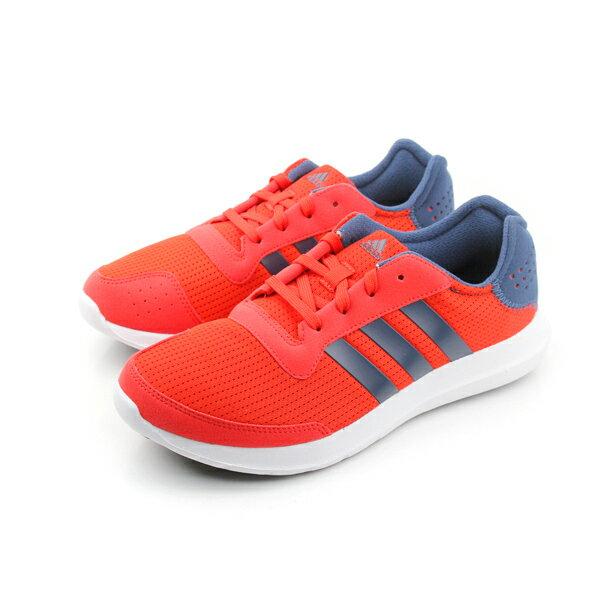 adidas element refresh m 跑鞋 紅 男款 no249