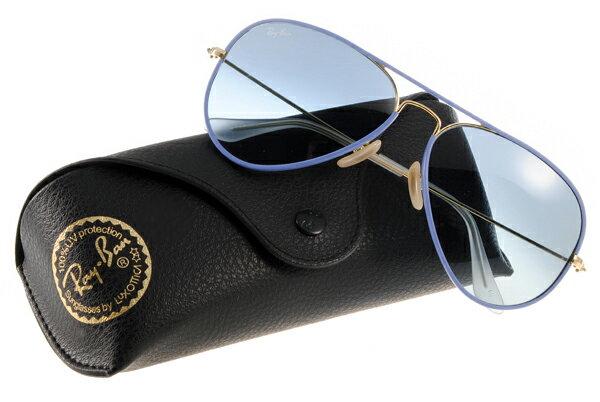Ray Ban 雷朋  藍色金邊 RB3025JM 太陽眼鏡
