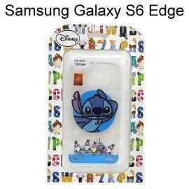 迪士尼透明軟殼 Samsung G9250 Galaxy S6 Edge [BABY] 史迪奇【Disney正版授權】