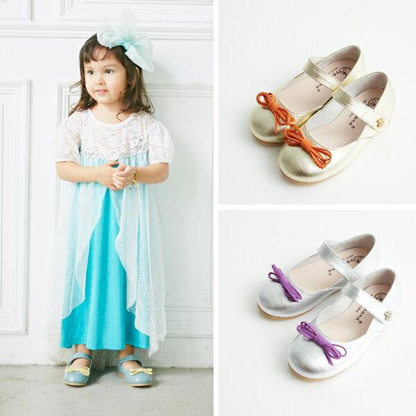 AppleNana。MIT手工童鞋。經典巴蕾舞女孩小皇冠全真皮娃娃鞋【QBC71611080】蘋果奈奈 5