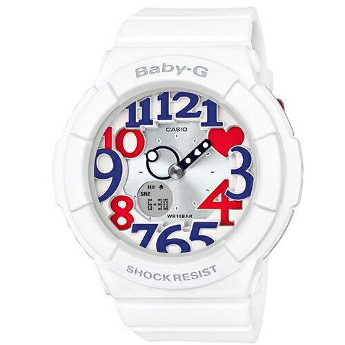 BABY-G海軍風雙顯流行腕錶