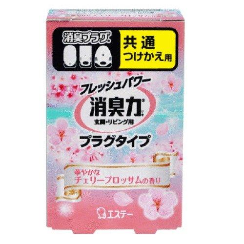 日本 愛詩庭(雞仔牌) 室內用插電芳香機 櫻花香味 20ml (補充瓶)