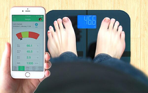 [亞果元素] BF1智慧藍牙體脂計使用app輕鬆管理健康數據 0