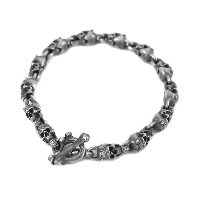 【海外訂購】【MAD CULT】哥布林骷髏龐克風純銀手鍊 M (MAD-B-08-M  0758540000) 1