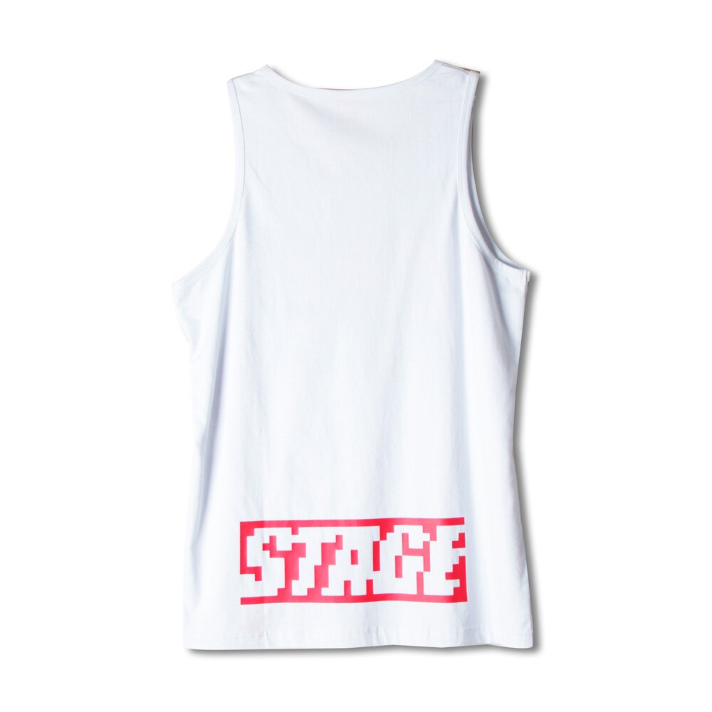 STAGEONE PIXELATE TANK TOP 黑色/白色 兩色 4