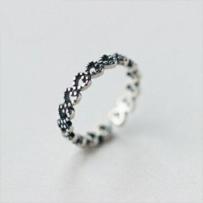 925純銀戒指開口戒~ 風靡焦點大方七夕情人節 女飾品73dt492~ ~~米蘭 ~ ~