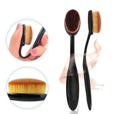 牙刷型粉底刷 (單支入) BB霜/CC霜/粉底刷/無痕底妝