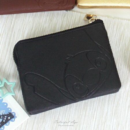 零錢包 正版迪士尼Disney系列收納包/卡夾包/短夾 米老鼠/維尼/史迪奇 柒彩年代【NS1】多款圖案