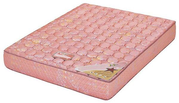【尚品傢俱】HY-A205-01 緹花布正藤彈簧床3.5尺