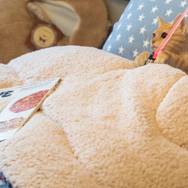 經典格子 羊羔絨暖被 內有充棉 可當棉被使用 150cmX195cm (正負5cm) 7