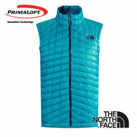 The North Face 男 PrimaLoft ® ThermoBall™ 保暖背心 瓷釉藍 C940
