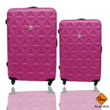 Gate9花花系列ABS霧面兩件組28吋+24吋輕硬殼旅行箱/行李箱 0