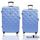 Bear Box 時尚香奈兒系列超值兩件組28吋+24吋霧面輕硬殼旅行箱/行李箱 0