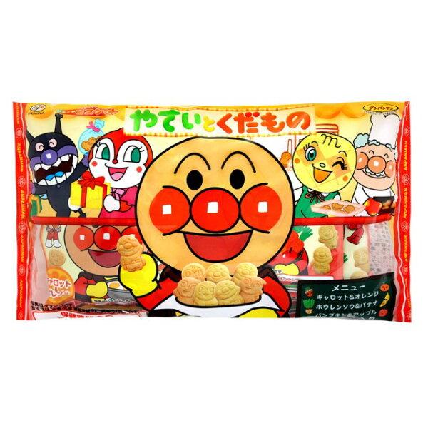 有樂町進口食品 日本 不二家 麵包超人蔬果餅乾分享包 6包入/168g 4802555132730