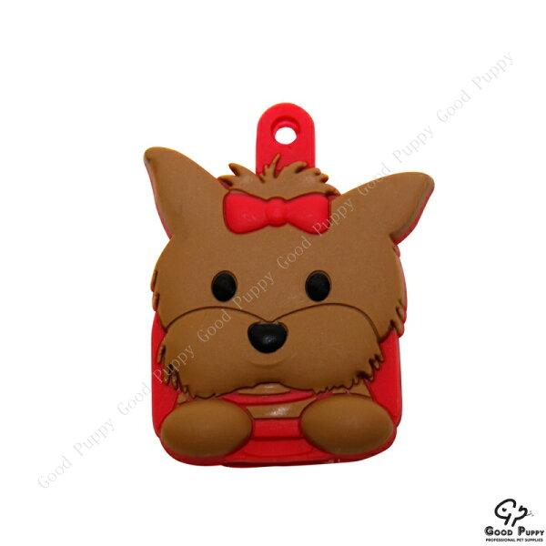 加拿大進口貓咪寵物鑰匙套-約克夏92862 Yorkshire Terrier*吊飾/鑰匙套/小禮物/贈品