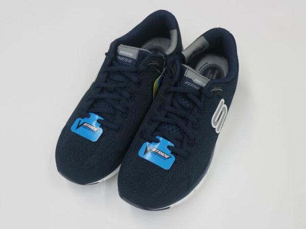 [陽光樂活]出清 SKECHERS 男 跑步系列 智慧生活 LIV 記憶型泡棉鞋墊 - 999658NVGY