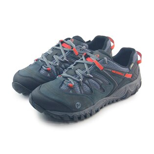 (男)MERRELL ALL OUT BLAZE GORE-TEX 戶外鞋 灰藍/紅-ML21261