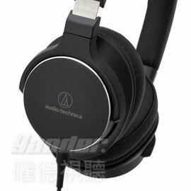 【曜德視聽】鐵三角 ATH-SR5 黑色 單邊出線耳罩式耳機 智慧型 線控功能★免運★送收納盒★