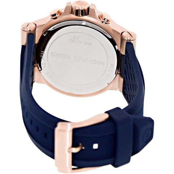 【限時8折 全店滿5000再9折】 Michael Kors Dylan系列競速方程式三眼計時手錶腕錶 MK8295 Outlet正品代購 2
