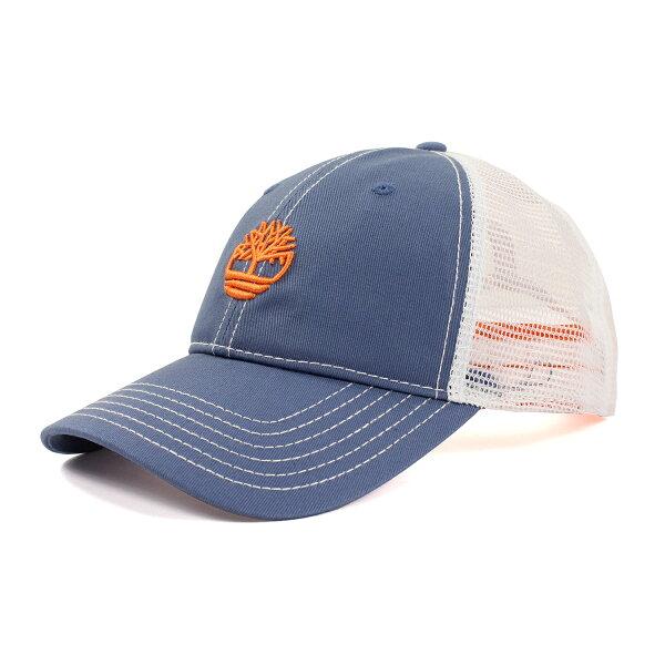 美國百分百【全新真品】Timberland 帽子 配件 棒球帽 網帽 男帽 遮陽帽 鴨舌帽 LOGO 藍色 F295