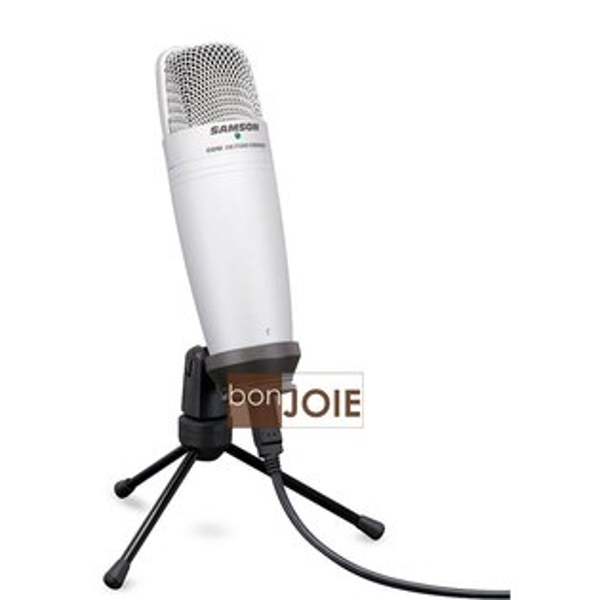 ::bonJOIE:: 美國進口 Samson C01U 銀色款 USB 電容式麥克風 (全新盒裝) Studio Condenser Microphone MIC C01UCW C01