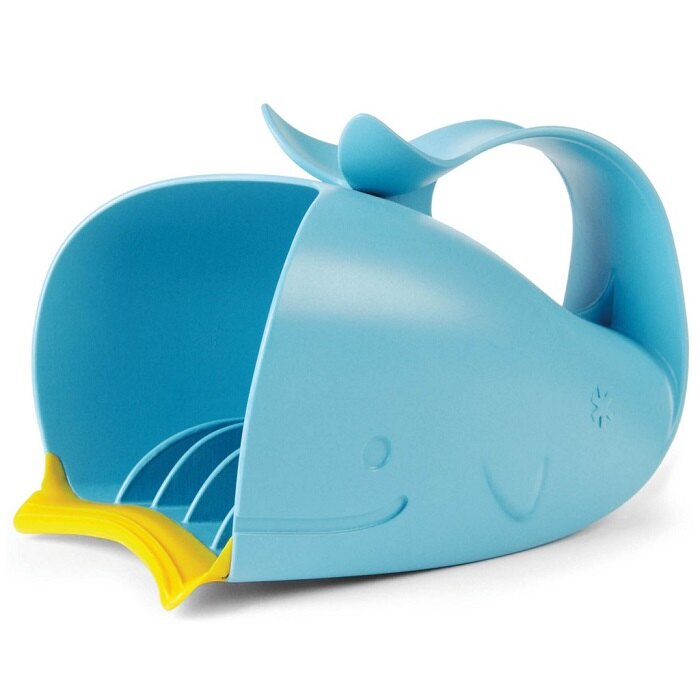 美國【Skip Hop】Moby 鯨魚瀑布淋浴沖洗器 3