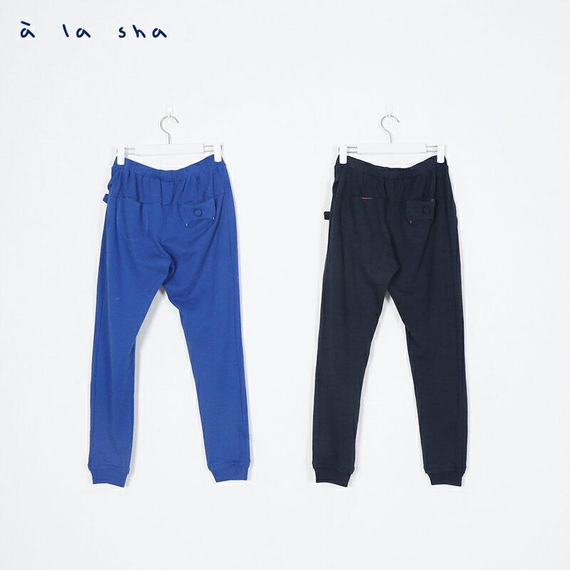 a la sha Qummi 貓咪立體口袋長褲 3