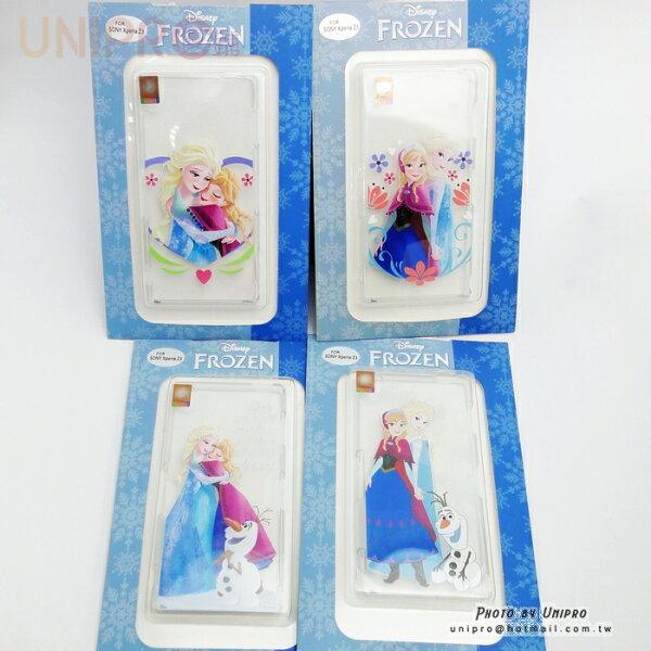 【UNIPRO】SONY Xperia Z3 D6653 冰雪奇緣 FROZEN TPU手機殼 雪寶 ELSA 安娜