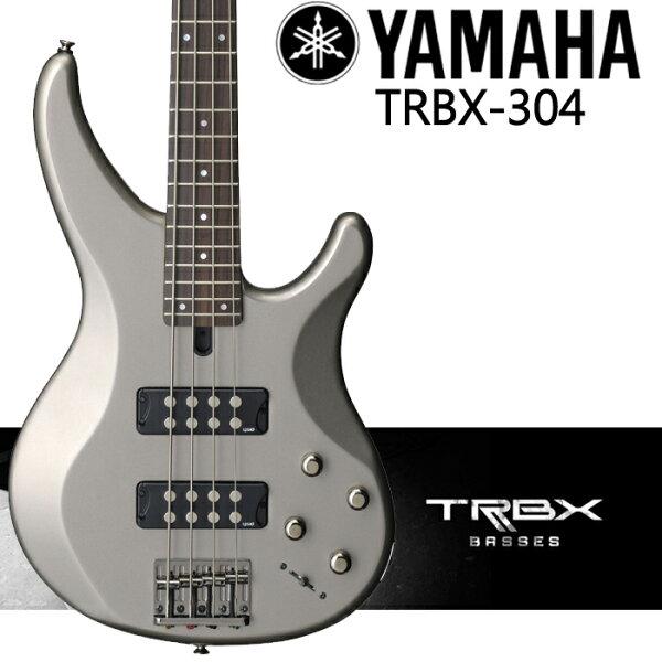 【非凡樂器】YAMAHA TRBX304 BASS 電貝斯套組【含背帶,導線,保養組,調音器】