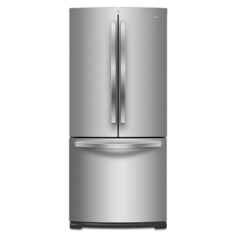 Whirlpool 惠而浦 554L 法式三門電冰箱 WRF560SMYM /防溢流強化玻璃