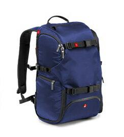 Manfrotto 正成公司貨 MB MA-BP-TRV -BU  TRAVEL BACKPACK 專業級旅行後背包 藍