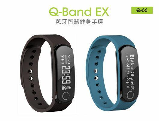 【迪特軍3C】i-gotU  Q66 Q-Band藍牙心率健身手環 心率監測 防潑水運動 雙色 Q62進階 0
